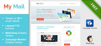 Free Download Newsletter Templates 40 Cool Email Newsletter Templates For Free