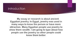 ancient ian jewelry by tania cruz ucsf ppt  introduction my essay or research is about ancient ian jewelry