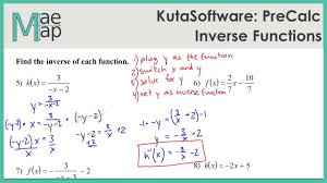 Learn how to use estimate values in this lesson. Kutasoftware Precalc Inverse Functions Youtube
