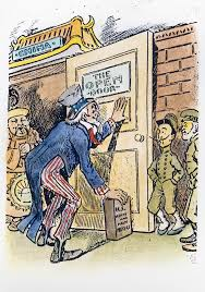 open door policy political cartoon ysis
