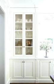 tall cabinets with glass doors brilliant kitchen white wall cabinet