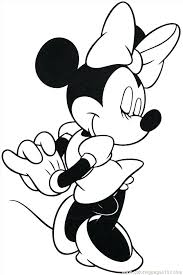 Mini Mouse Coloring Page Mouse Coloring Pages For Kids Minnie Mouse