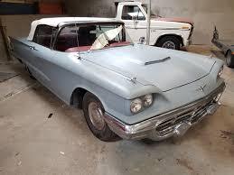 1960 Ford Thunderbird Convertible - Speed Monkey Cars