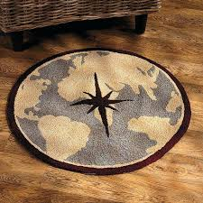 compass area rug beautiful nautical