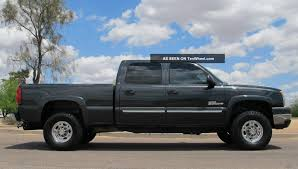 2004 Chevy Duramax Diesel 2500hd Crew Short Bed 4x4 Az