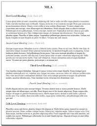 Mla Heading Essay Mla Format Essay Writing Format For A Essay Writing The Standard