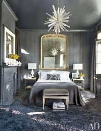 Gray Bedroom & Living Room Paint Color Ideas | Architectural Digest
