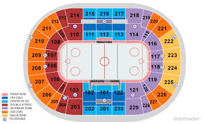 Moda Center Hockey Seating Chart 71 Clean Moda Center Portland Oregon Seating Chart