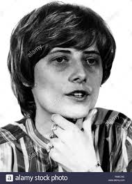 Board member of the Greens Petra Karin Kelly. Petra Kelly was a founding  member of the
