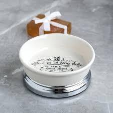 ceramic soap dish recessed with
