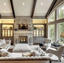 where to put tv in living room with fireplace living room fireplace decor rustic bookcase with