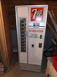 Vintage 7up Vending Machine For Sale New Vintage Vending Machine's Collection On EBay