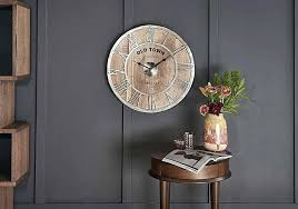 dining room wall clock living clocks decor with