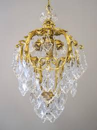 caldwell doré bronze crystal light fixture 8 light