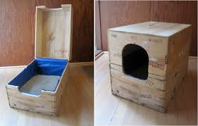 view in gallery cat litter box furniture diy