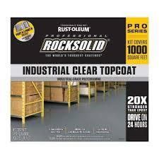 clear industrial top coat