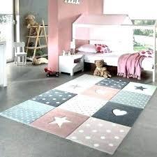 colorful kids rug large kids rug girls bedroom pink grey stars hearts check pattern soft children
