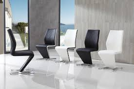 amari contemporary faux leather modern dining chair