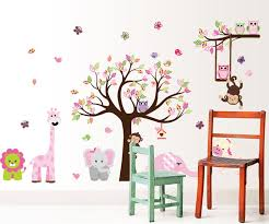 jungle zoo animal girafee elephant lion zebra and monkey having party on tree