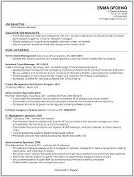 Administrative Resume Objectives Sample For Administrative Assistant