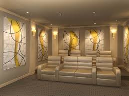 decorative sound absorbing wall panels home theater