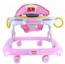 Baby Plus BP7753-PINK Walker for Girls, 0-2 Years | Souq - UAE