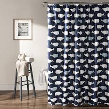 Amazon.com: Lush Decor Whale Shower Curtain, 72\