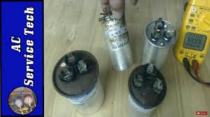 how to tell if a ac capacitor is bad visual and multimeter testing