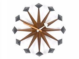 wall mounted clock polygon clock by vitra
