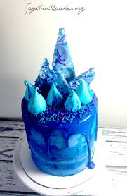 Blue Birthday Cake Designs Blue Birthday Cake Eggless Vanilla Cake Recipe Creative