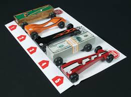 pinewood derby race cars crafts projects wood car racing racing tools derby stop