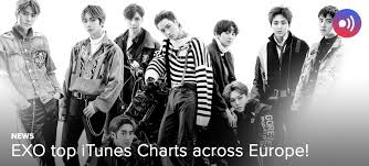 News Exo Top Itunes Charts Across Europe Unitedkpop