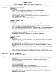 Job Developer Resume