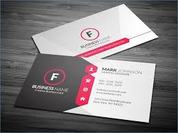Ms Office Business Card Template Awesome Business Card Design