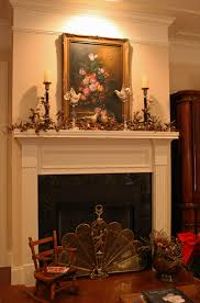 Terrific Candles Mantel ...