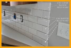 subway tile backsplash edge. Brilliant Subway Marvelous Duo Ventures Kitchen Makeover Subway Tile Backsplash To Edge E