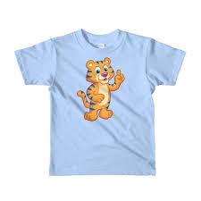 <b>Kids Cotton</b> T-shirt with Colorful Cartoon Print – Premium Joy