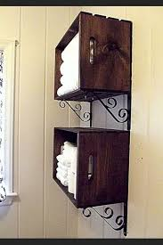 diy towel storage. Chic And Creative 5 Over Toilet Towel Storage 20 Easy DIY Shelves For The House Diy