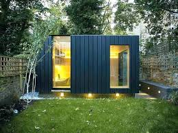 prefab garden office. Prefab Backyard Office Garden Architects Shed Small Offices