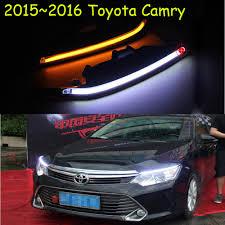 2017 Toyota Camry Led Fog Lights Car Bumper Lamp For Toyota Camry Daytime Light 2015 2016 Car Accessories Led Camry Fog Light 2ps Set Reiz Prado Camry Vigo