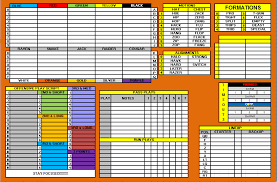 madden play call sheets playcall sheet tradition sports online