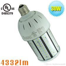 Ul Listed Corn Led Light Manufacturer Indoor Lighting E27 30w 110 Volt Bulbs Light 220 Volt E26 Medium Base E17 Led Bulb Led Fog Light Bulbs From