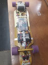 just finished my homemade electric longboard