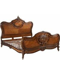 EuroLux Home Louis XV Rococo Traditional Mahogany Bed, King from Houzz | People