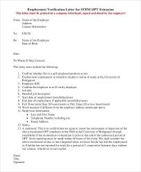Green Card Employment Verification Letter Sample Professional