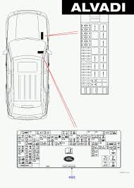 land rover europe labels fuse box sallaaa148a454033 land rover europe lr3 discovery 3 gcat 2005 2009