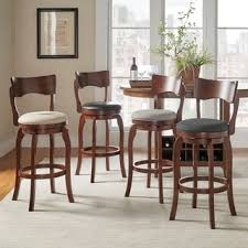 marble dining table adecc: tribecca home lyla swivel  inch brown oak bar height linen barstool