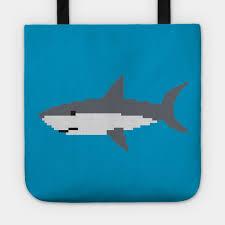 Shark Size Chart Pixel Art Shark
