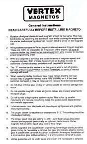 vertex magneto wiring diagram vertex image wiring vertex mag installation instructions on vertex magneto wiring diagram