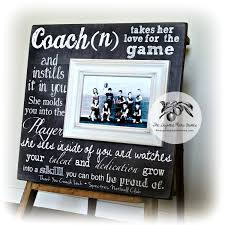 personalized coach thank you gift coach gift ideas